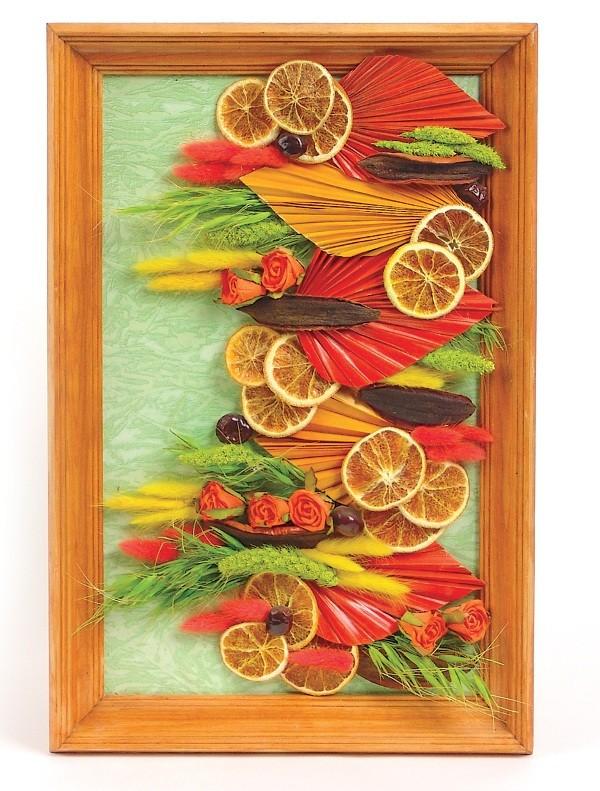 Картины из засушенных цветов и листьев своими руками фото 69